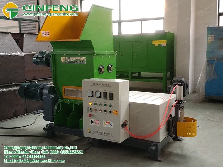 Styrofoam Compactor Equipment