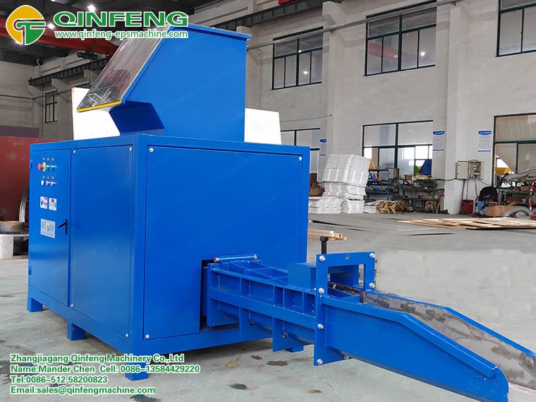 Styrofoam Compacting Machine
