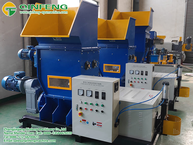 EPS Styrofoam Melting Machine
